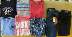 Boys Clothes Lot, 12-14years, Calvin Klein, Quicksilver, Blue Rag New And More