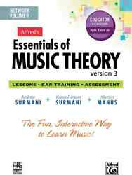 Alfred's Essentials Of Music Theory Software, Version 3 Network Version, Vol...