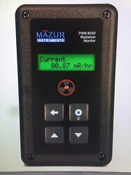 Mazur Instr Prm-9000 Geiger Counter And Nuclear Radiation Contamination Detector