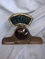 Green Stop Vintage Antique Tail Light Lamp Model T Ford Hot Rat Rod Chevy Buick