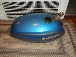 Suzuki 1975 T500 Tin Set Complete W Oil Tank And Covers Super Clean Alm Nos