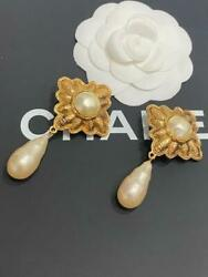 Pole Rare Pearl Roundhouse Vintage Gord Earring _31780