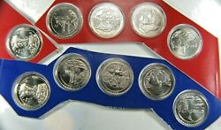 2011 Pandd America The Beautiful State Parks Quarter In Ogp Mint Set Package