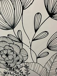 Peel And Stick Wallpaper Black Garden Wall Furniture Sticker Contact Paper 30sq Ft