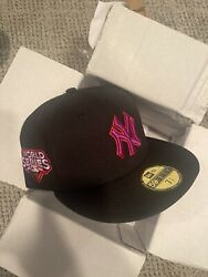 Hat Club Exclusive Moon Rock Yankees Ws09 Blk/pur/irs 7 3/4 Brand New