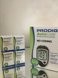 30 Prodigy Diabetic Blood Glucose Meter Plus 300 Box Of 50 Strips. Exp 01/2023