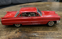 Vintage Cadillac Tin Toy Car - Sign Of Quality Made In Japan Great Condition