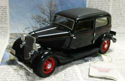 Out Of Print Franklin Mint 1/24 1933 Ford Deluxe John Dillinger