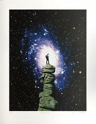 Joe Webb 'conscious' Limited Edition Print Sold Out Investment Art