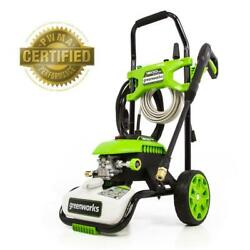 Electric Pressure Washer Cold Water Outdoor Equipment Home 1800-psi 1.1-gpm