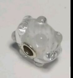 Authentic Trollbeads White Waters Event Exclusive Bead Htf New