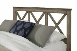 Alpine Furniture Potter Headboard Only, French Truffle