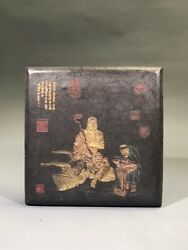 6.2'' Chinese Ink Stick Ink Calligraphy Writing Buddha Ink Stick Table