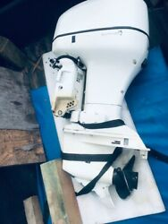 2006 Johnson 90hp 2 Stroke Boat Motor Outboard Out Board Controls Manual Tested