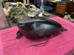 🏁 Harley Davidson Sportster 883 And 1200 Fuel Petrol Gas Tank And Pump 75268-07f