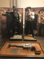 Ultimate Wyatt Earp Collection Six Gun Legends And Franklin Mint Doc Holiday