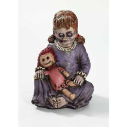 Prop-baby Girl Zombie-12tall