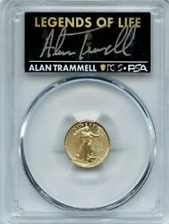 2021 Type 2 5 Gold American Eagle Ngc Ms70 Legends Of Life Alan Trammell