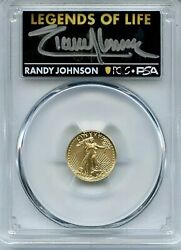 2021 Type 2 5 Gold American Eagle Ngc Ms70 Legends Of Life Randy Johnson