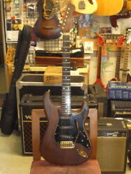 Schecter All Walnut St Model Used Electric Guitar