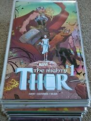 Marvel Mighty Jane Foster Thor 1 - 23, 700 - 706 Complete Set Aaron +special