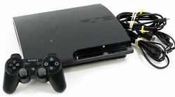 Sony Playstation 3 Ps3 Slim 160gb Video Game Console Bundle Cech-2501a