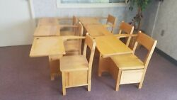 School Desk With Pull Out Drawer Custom Built Sturdy 26 High Pickup Only