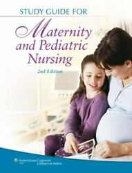 Study Guide For Maternity And Pediatric Nursing By Susan Ricci