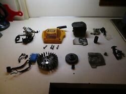 Cub Cadet Commercial Chainsaw Cs-5220 Huge Parts Lot Recoil, Muffler, Ignition