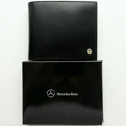 Mercedes Benz Classic Business Car Accessory Italian Leather Credit Card Wallet