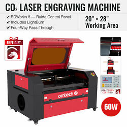 Omtech 60w 28x20 Inch Co2 Laser Engraving Cutting Etching Machine With Lightburn
