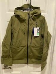 Nwt 399 Stio Raymer Hooded Jacket Ski Winter Water/windproof Medium Sold Out