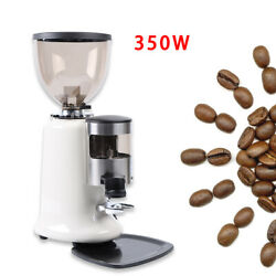 Coffee Grinder Burr Mill Machine Home Commercial Electric Coffee Grinder+hopper