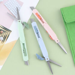2 In 1 Color Portable Multifunctional Paper Cutter Cutting Paper Scissors+