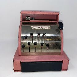 Vintage Toy Bank Cash Register.tom Thumb Children's Toy From The 50s.very Cool
