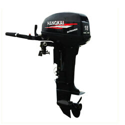 246cc 18hp 2stroke Outboard Motor Water Cooling System Heavy Duty Boat Engine Us