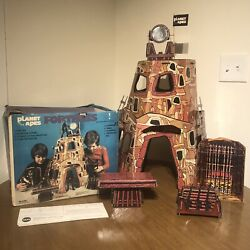 Mego Planet Of The Apes Fortress Playset 1974 100 Complete