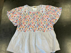 Savanna Jane Kind To you Top Embroidered Size Small Women's BNWT $19.20