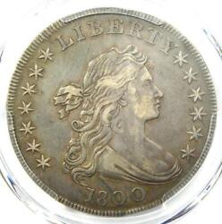 1800 Draped Bust Silver Dollar 1 Coin Wide Date Certified Pcgs Xf Detail Ef