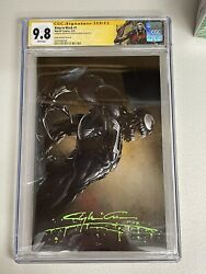 King in Black #1 CGC 9.8 Ss Signed amp; SKETCH Clayton Crain Virgin D Exclusive
