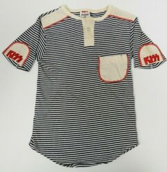 Kiss Vintage Boys Striped Shirt By Image Clothing Aucoin 1978 Very Rare