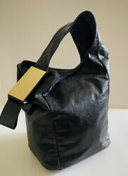 Vince Camuto Hobo Blue Leather Gold Tone Hardware $40.00