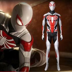 Movie Spider-man Ps5 Tights Bodysuit Headgear Cos Clothing Game Halloween Gifts