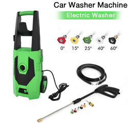 3000psi 1.7gpm Electric Pressure Washer Water Cleaner Power Sprayer Kit 1800w Us