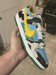 Nike Sb Dunk Low Ben Jerryandrsquos Chunky Dunky Size 13 Pre-owned