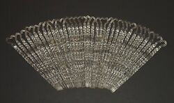 Vintage Christmas Plastic Ornaments Set of 36 Clear Twisted ICICLES w Hook
