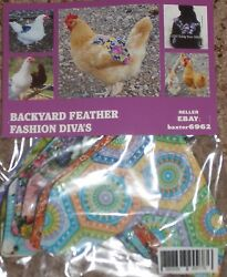 TODAY ONLY 5 Chicken Saddle Apron Hen BACK FEATHER PROTECTION BACKYARD POULTRY