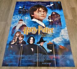 Harry Potter And The Philosopher's Stone French Movie Poster Original 4763