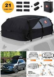Universal Car Rooftop Luggage Cargo Bag 21 Cb Ft Carrier Suv Truck Waterproof We