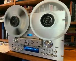 Pioneer Rt-909 4 Track 2 Channel Reel To Reel Tape Deck Serviced Excellent